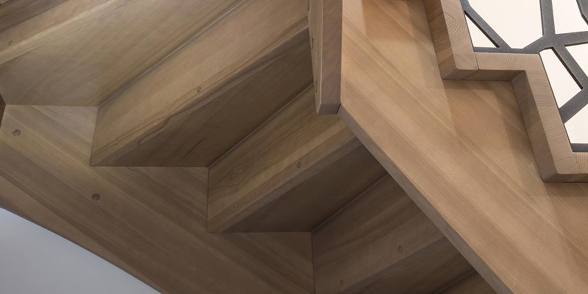 Schody drewniane Olsztyn - Schody grzebieniowe P2466