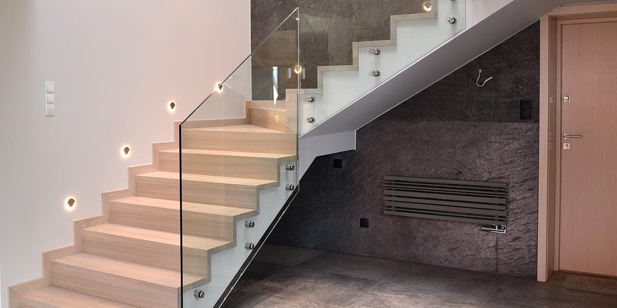 Schody drewniane Olsztyn - Schody dywanowe na beton P197